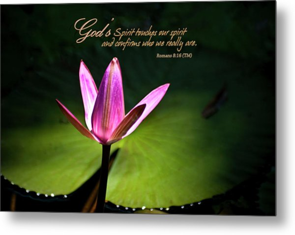 God's Spirit Metal Print