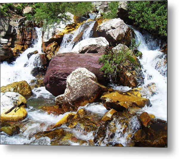 God's Water Metal Print by Norman Kraatz