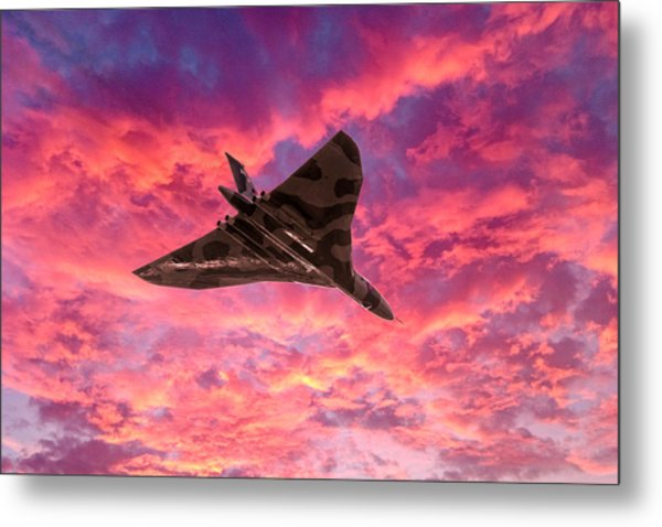 Going Out In A Blaze Of Glory Metal Print
