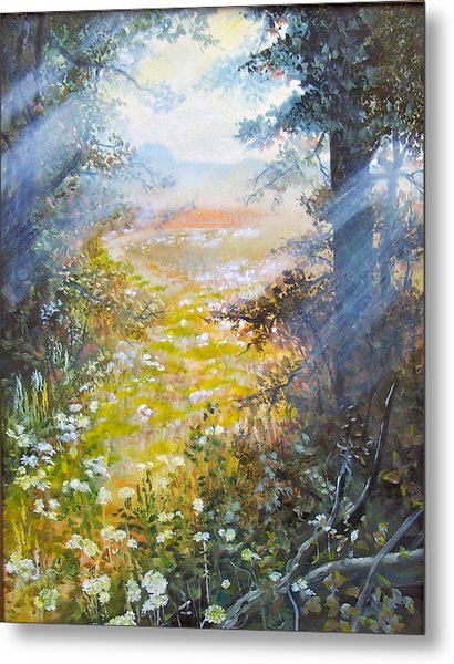 Going To The Dovefields  Sold Metal Print