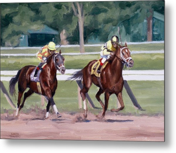 Going To The Whip Metal Print