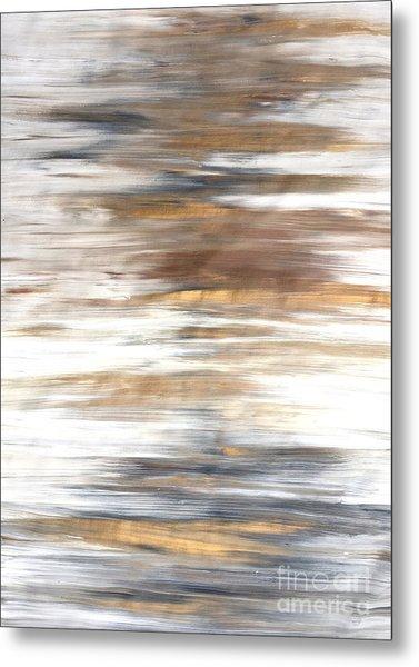Gold Coast #22 Landscape Original Fine Art Acrylic On Canvas Metal Print
