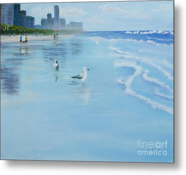 Gold Coast Australia, Metal Print