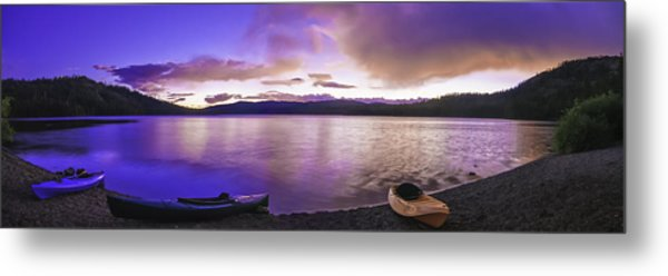 Gold Lake Pano Metal Print