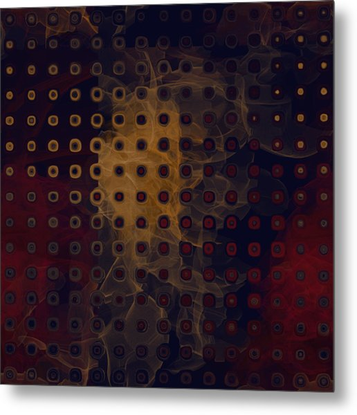 Gold Light Metal Print