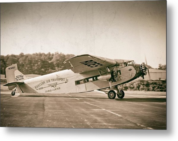 Golden Age Trimotor Metal Print