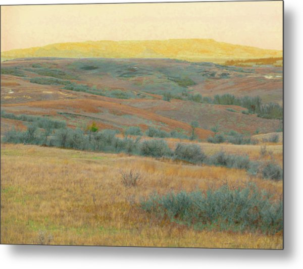 Golden Dakota Horizon Dream Metal Print