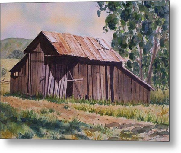 Golden Eagle Ranch Barn Metal Print