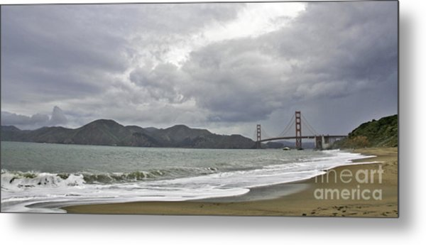 Golden Gate Study #2 Metal Print
