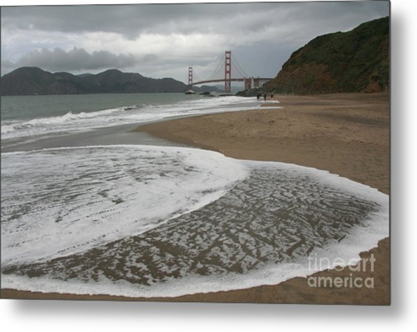 Golden Gate Study #3 Metal Print