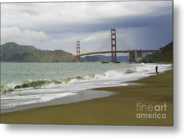 Golden Gate Bridge #4 Metal Print