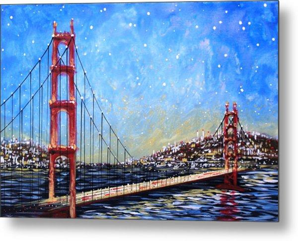 Golden Gate Bridge Metal Print by Amy Giacomelli