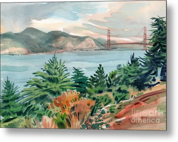 Golden Gate Metal Print by Donald Maier