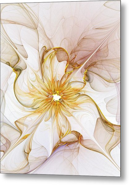 Golden Glow Metal Print by Amanda Moore