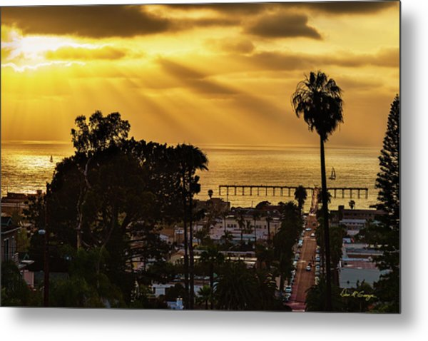 Metal Print featuring the photograph Golden Moment by Dan McGeorge