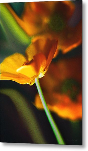 Golden Possibilities... Metal Print