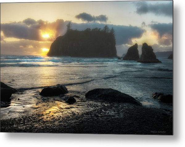 Metal Print featuring the photograph Golden Ruby by Expressive Landscapes Fine Art Photography by Thom