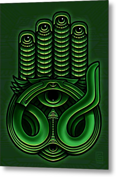 Golden Teacher 11 Metal Print by George Coghill