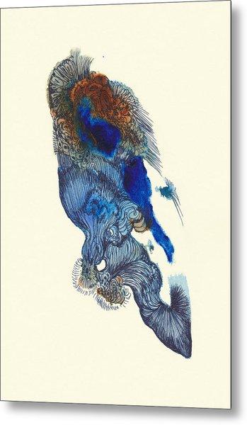 Goldfish- #ss14dw033 Metal Print by Satomi Sugimoto
