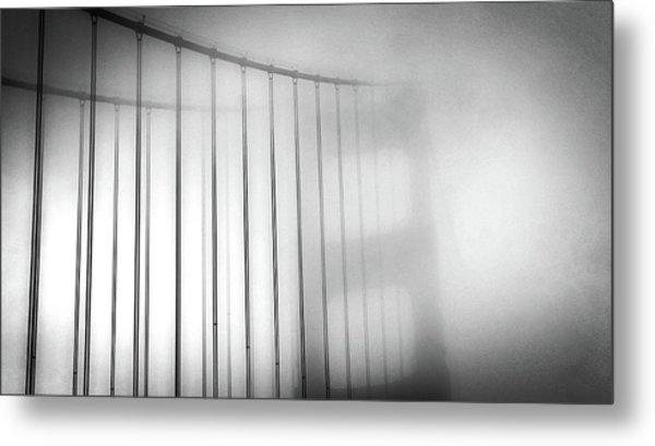 Golen Gate Fog Metal Print