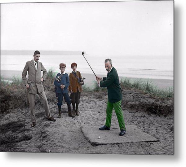 Golf 1907 Dream Metal Print