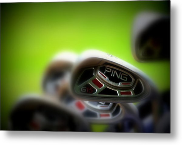 Golf Clubs 2 Metal Print