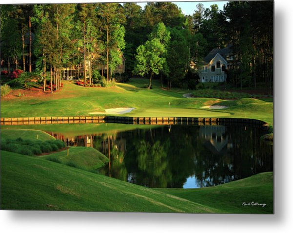 Golf The Landing #3 Reynolds Plantation Lake Oconee Ga Art Metal Print
