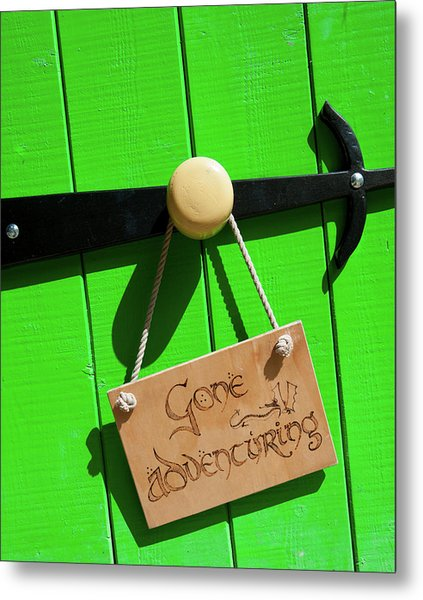 Gone Adventuring Metal Print