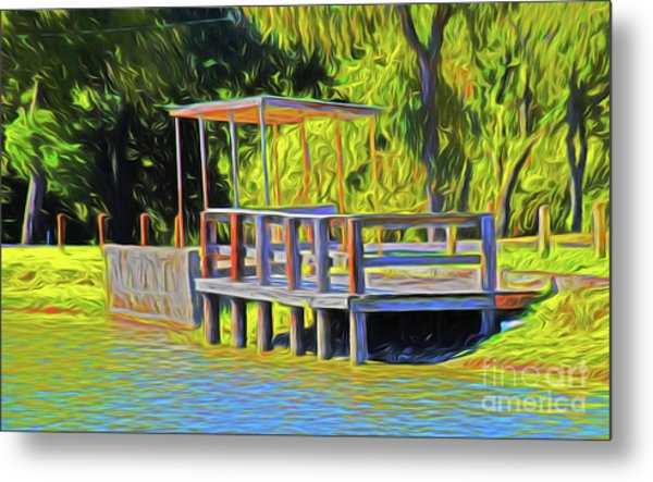 Gone Fishing 18-11 Metal Print