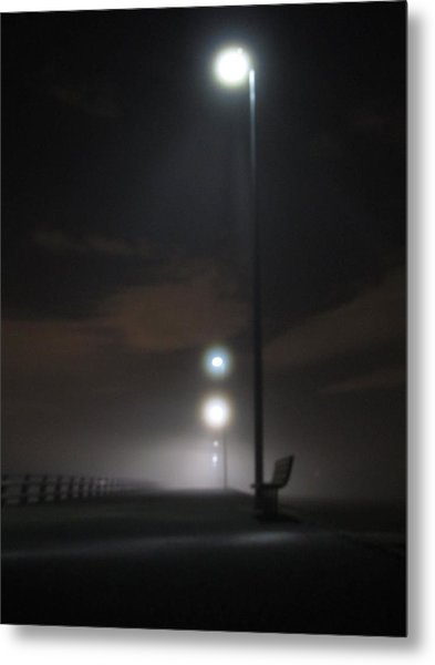 Gone To The Mist Metal Print