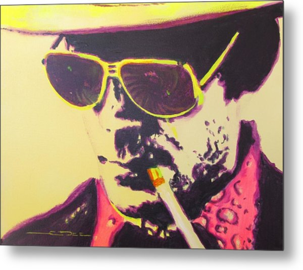Gonzo - Hunter S. Thompson Metal Print