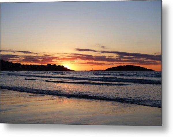 Good Harbor Beach At Sunrise Gloucester Ma Metal Print