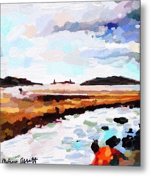 Good Harbor Beach, Salt Island, And Thatcher's Island Metal Print
