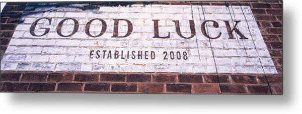 Good Luck Restaurant Metal Print