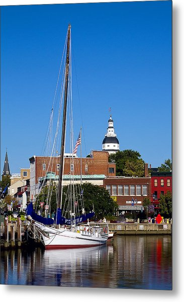 Good Morning Annapolis Metal Print