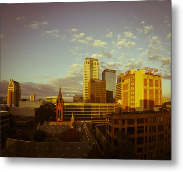 Good Morning Birmingham Metal Print