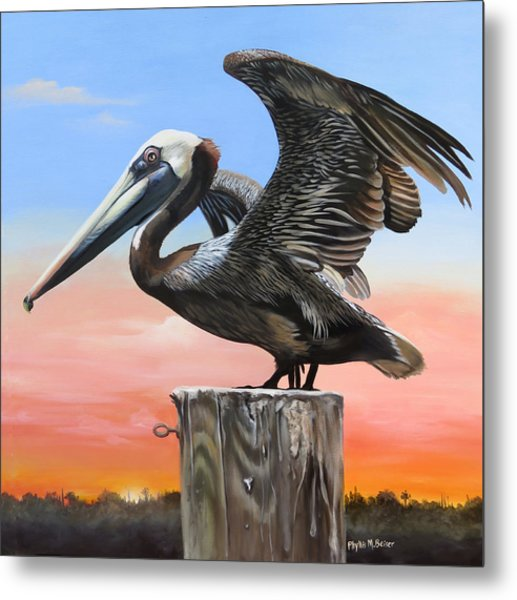 Good Morning Florida Metal Print
