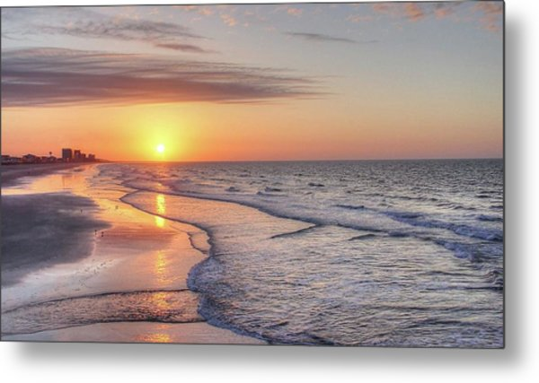 Good Morning Grand Strand Metal Print