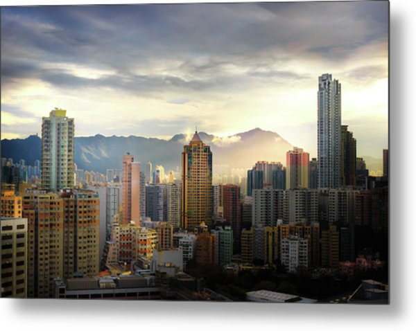 Good Morning, Hong Kong Metal Print
