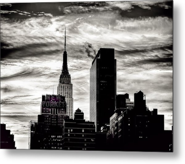Good Morning Nyc Metal Print