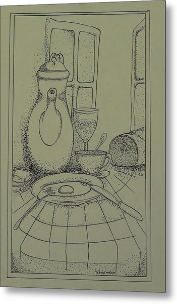 Good Morning  Metal Print by Thierry-guenand   DAUGENN-