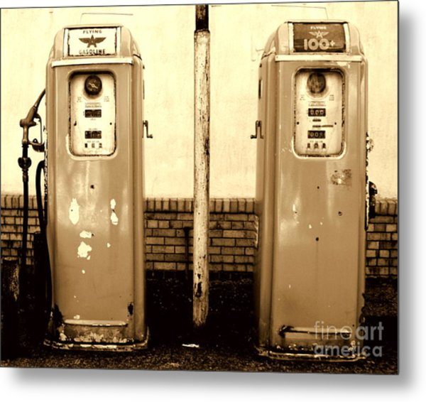 Good Old Days I Metal Print by DazzleMe Photography