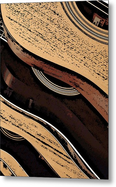 Good Wood Metal Print