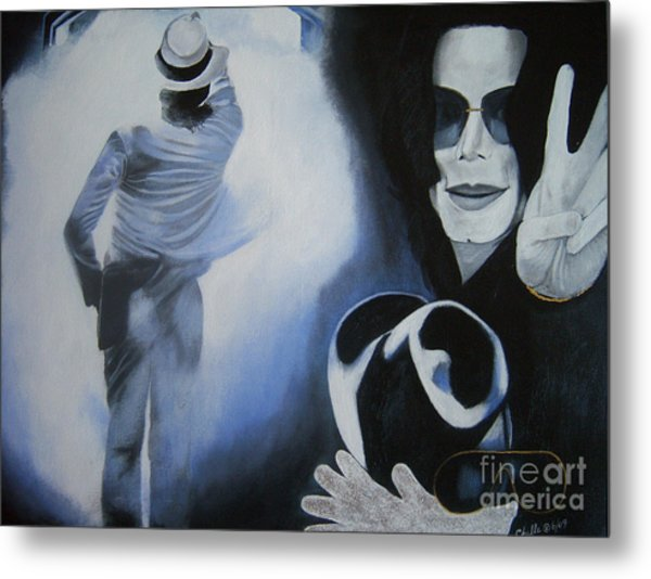 Goodbye Mr. Jackson Metal Print