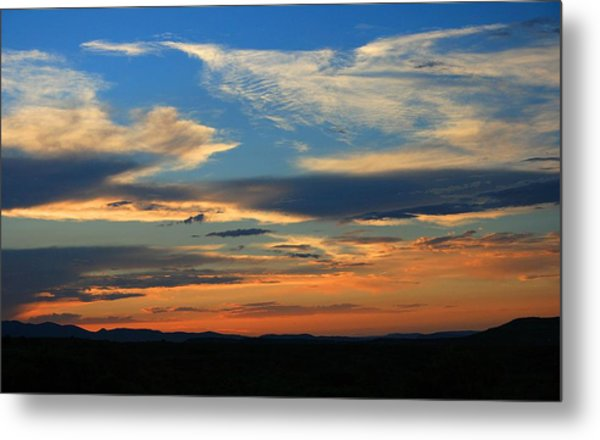 Goodnight Arizona Metal Print