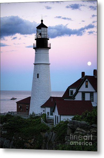 Goodnight Moon, Goodnight Lighthouse  -98588 Metal Print