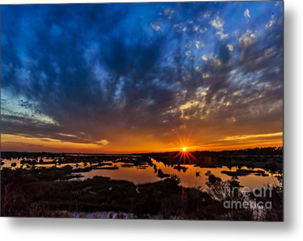 Goodnight Topsail Metal Print