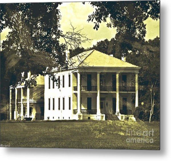 Goodwood Plantation Baton Rouge Circa 1852 Metal Print