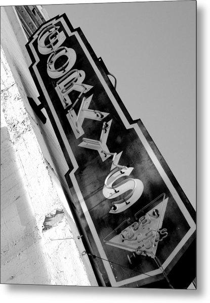 Gorky's Cafe Metal Print