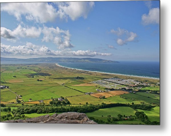 Gortmore Viewpoint, Northern Ireland. Metal Print